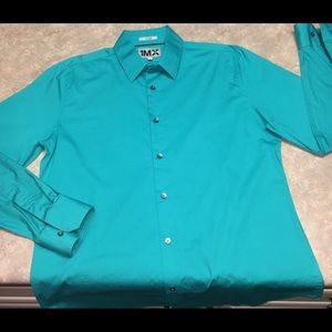 Men's Large Long Sleeve Fitted Express Shirt